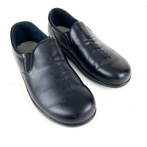SAS Tripad Comfort Loafers Size 9W Black Leather